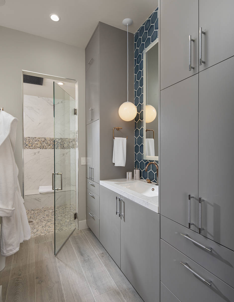 A guest bathroom. (Sunstate Realty)