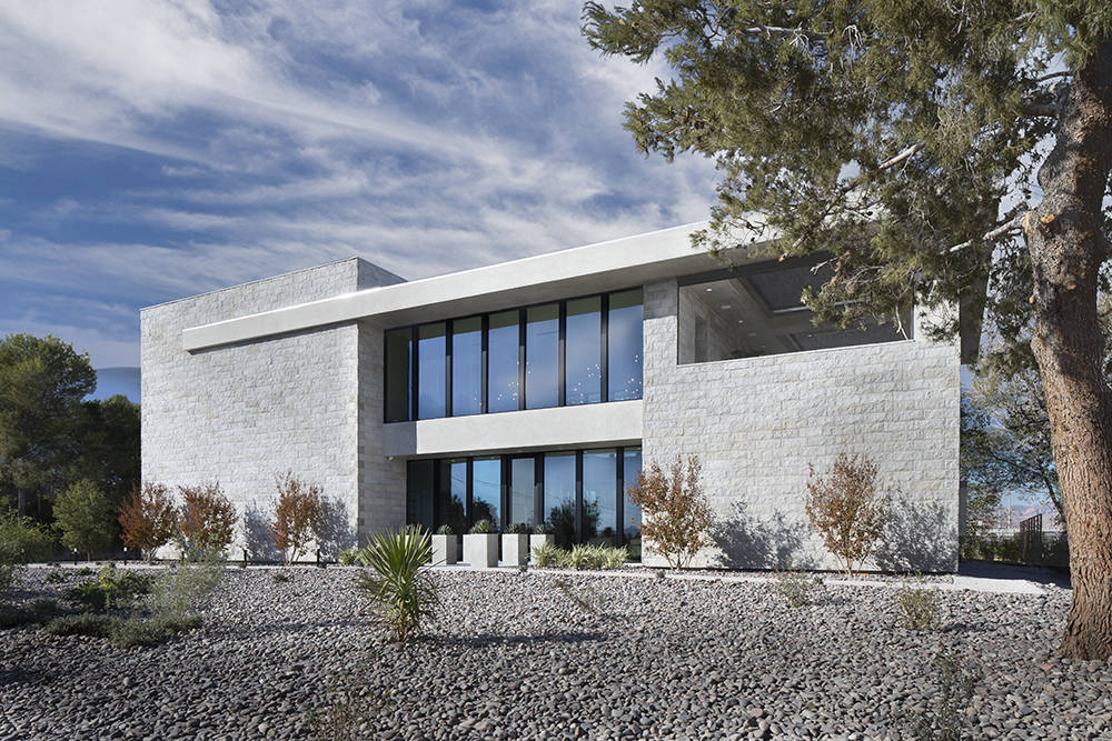 The home has a modern look. (Sunstate Realty)