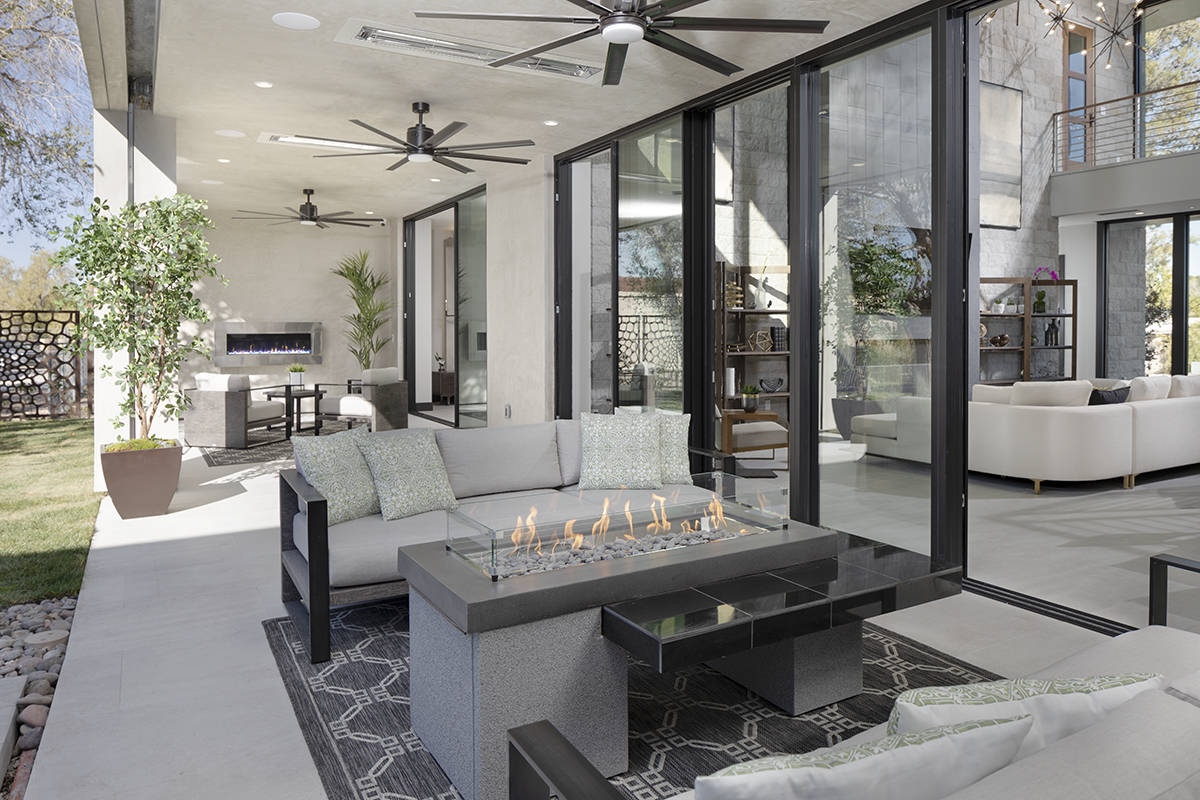 The patio. (Sunstate Realty)