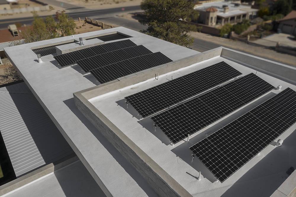 Solar panels. (Sunstate Realty)