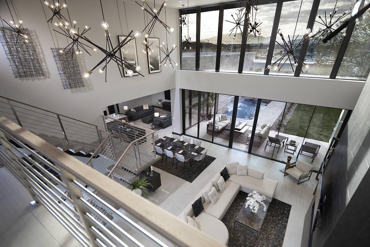 A Manhattan couple seeking a technologically savvy house as they relocate to Nevada like many o ...