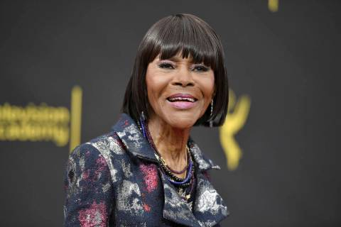 Cicely Tyson arrives at night two of the Creative Arts Emmy Awards on Sept. 15, 2019, in Los An ...