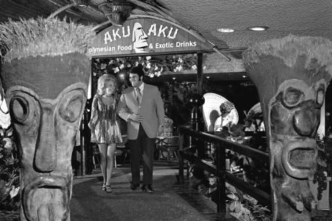 The Aku Aku at the Stardust in June 1971. (R-J files/Boyd Gaming)