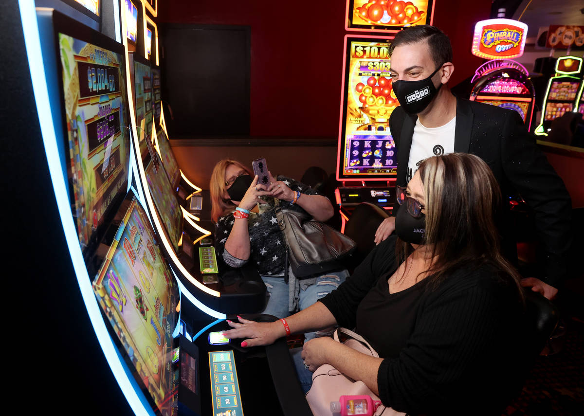 YouTube influencer Brian Christopher slot area taking off at Plaza | Las  Vegas Review-Journal