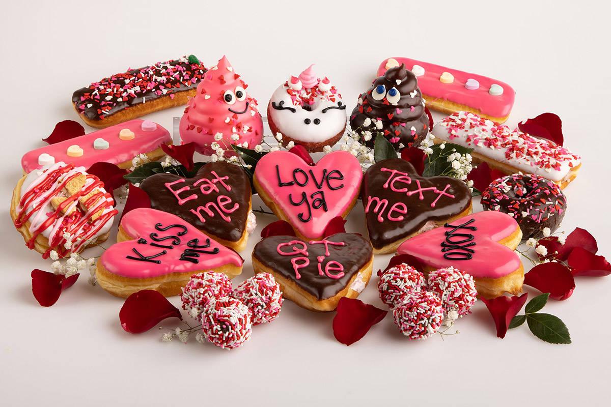 Pinkbox Doughnuts' Valentine's Day designs. (Pinkbox)