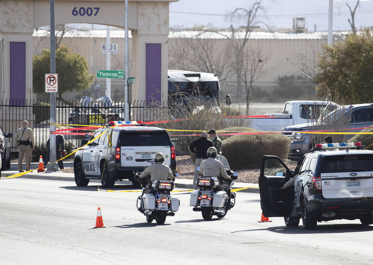 The Metropolitan Police Department is investigating an officer-involved shooting on the 5900 bl ...