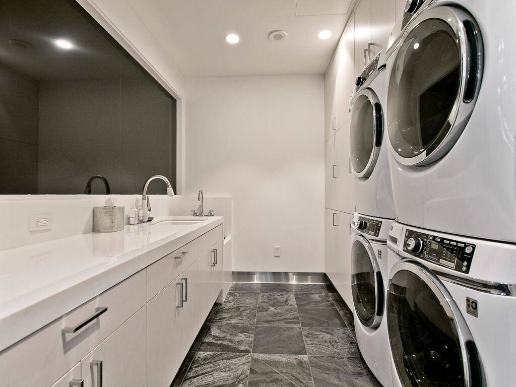 The laundry room. (Elite Realty)