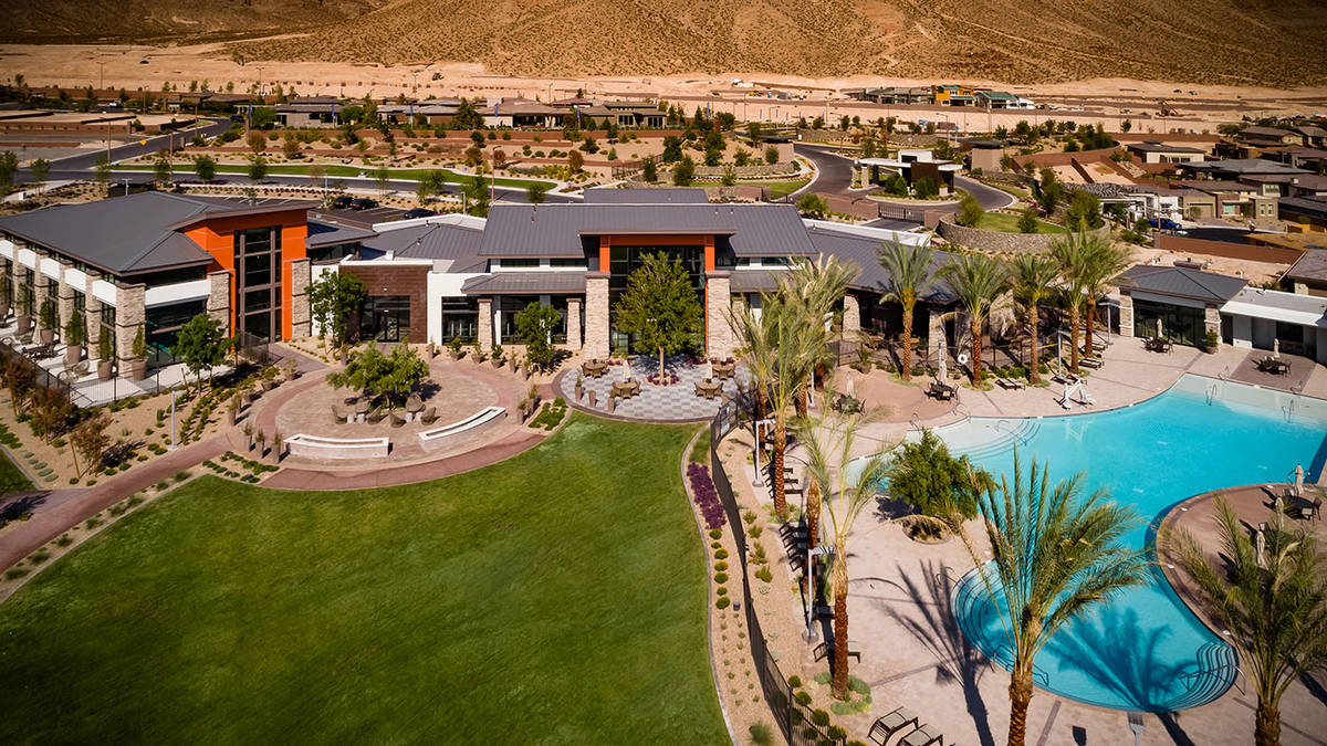 Regency by Toll Brothers is one of two age-qualified neighborhoods in the master-planned commun ...