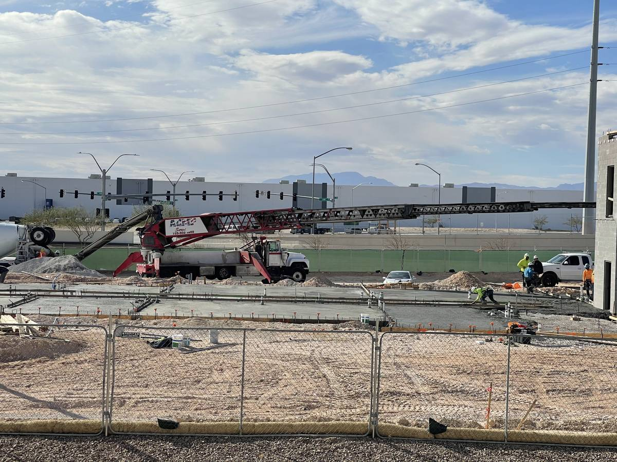 Nigro Development is building a 119-room TownePlace Suites hotel in North Las Vegas, seen here. ...