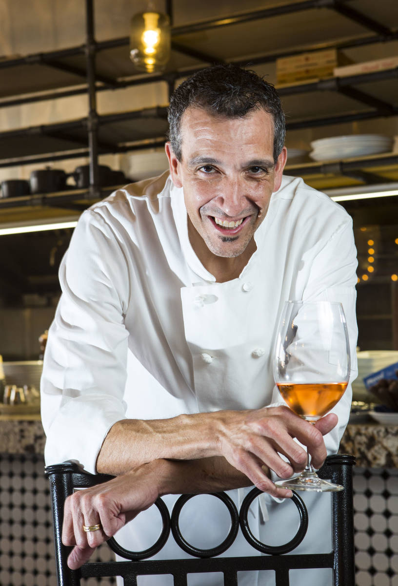Chef Giovanni Mauro is expanding to two other locations in the valley. (Chase Stevens Las Vegas ...