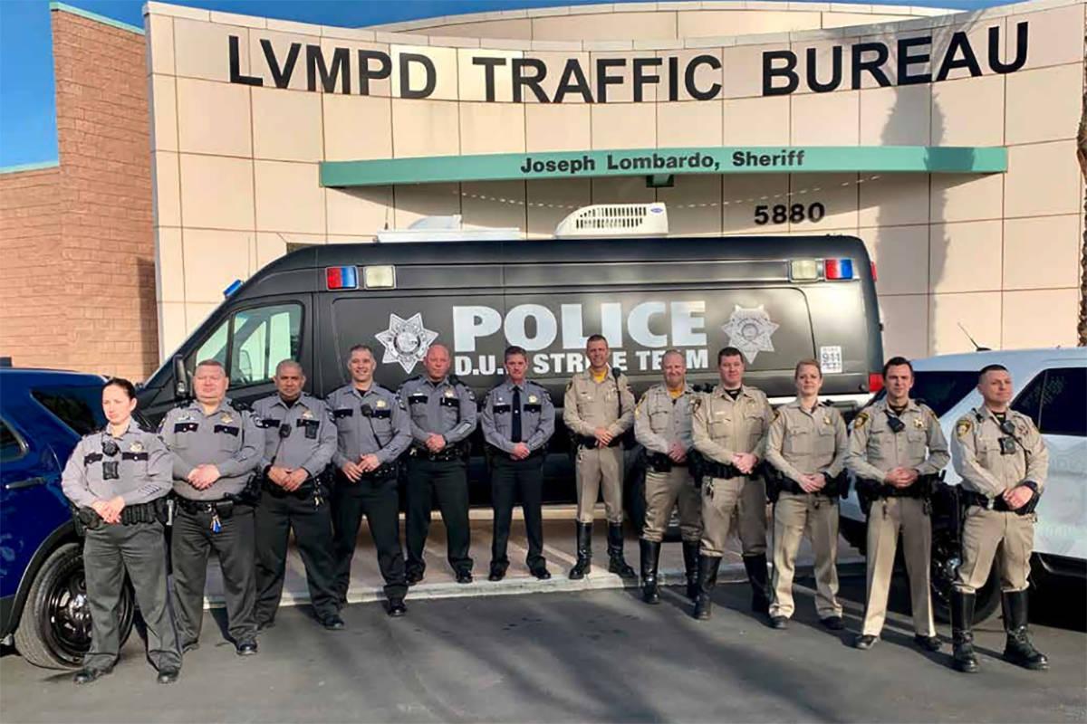 DUI Strike Team (LVMPD.com)