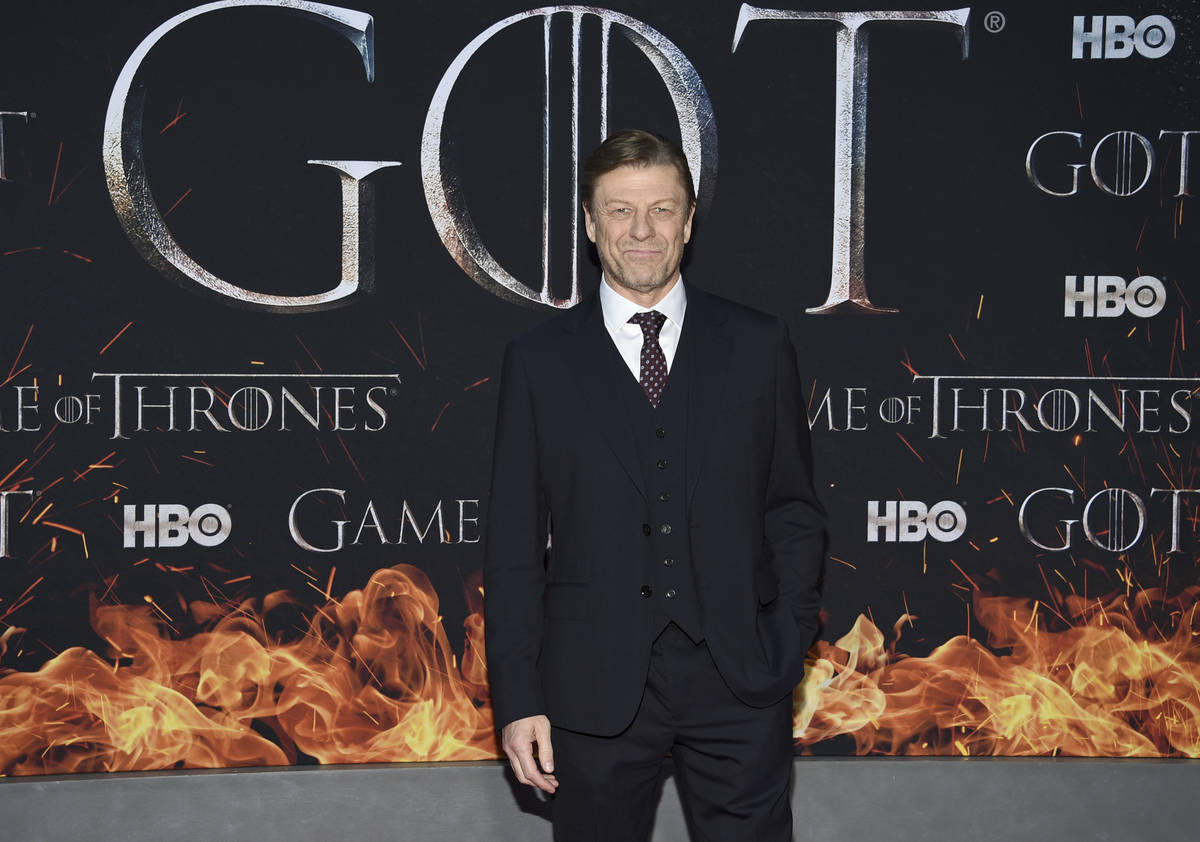 "Actor Sean Bean attends HBO's ""Game of Thrones"" final season premiere at Radio City Music Halli ..."