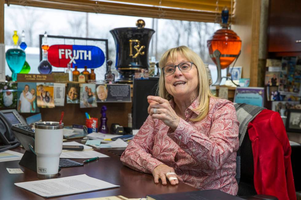 Owner Lynne Fruth, whose company owns 28 pharmacies in the region, is playing a pivotal role in ...