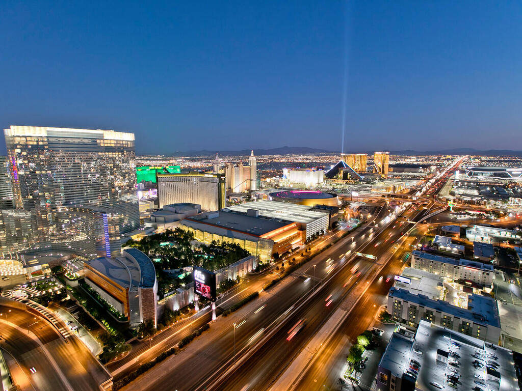 A view of the Strip. (Elite Realty)