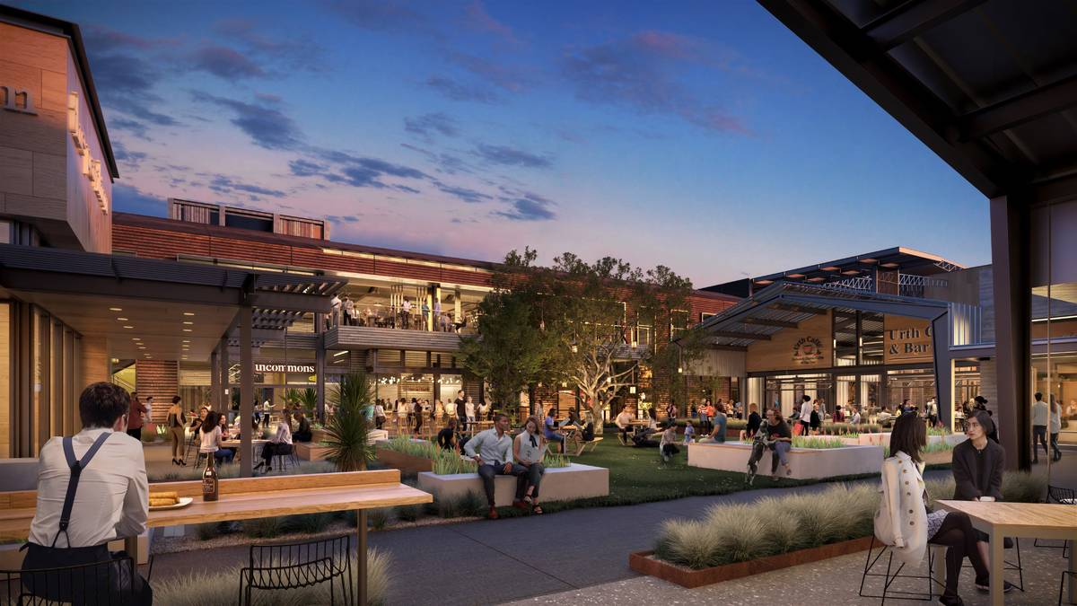 UnCommons, a 40-acre project in the southwest Las Vegas Valley, a rendering of which is seen he ...