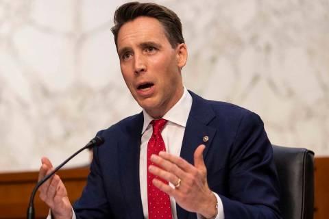 Sen. Josh Hawley, R-Mo. (Caroline Brehman/Pool via AP)