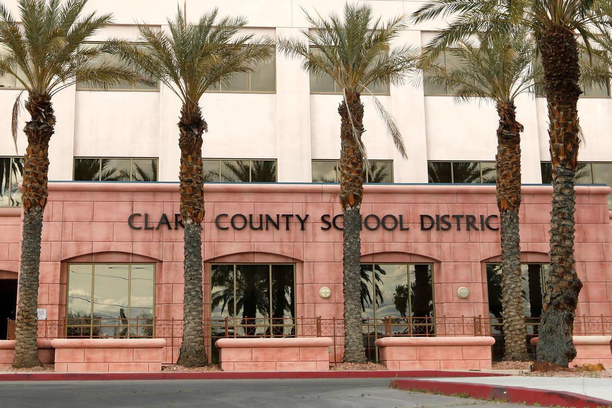 Clark County School District Administrative Center (Chitose Suzuki / Las Vegas Review-Journal) ...