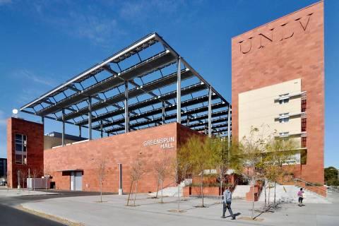 UNLV's Greenspun College of Urban Affairs, 4504 S. Maryland Parkway, Las Vegas (Las Vegas Revie ...