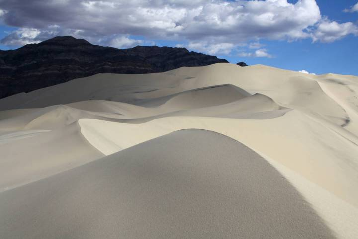 """Eureka Dunes are about three miles long and one mile wide and are known as """"singing"""" or """" ..."""