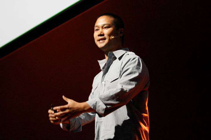 A Las Vegas attorney for late tech entrepreneur Tony Hsieh, shown in this 2012 photo, is seekin ...