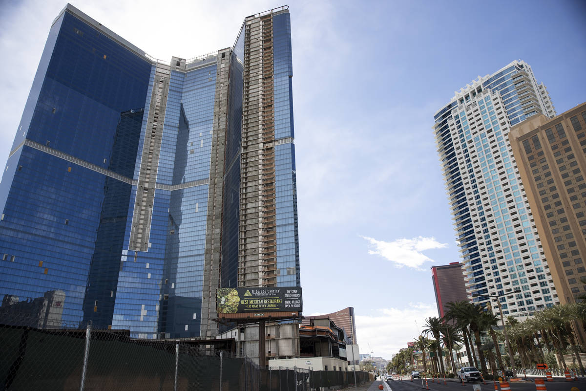 Drew Las Vegas Hotel in Las Vegas, on Wednesday, Feb. 17, 2021. (Erik Verduzco / Las Vegas Revi ...