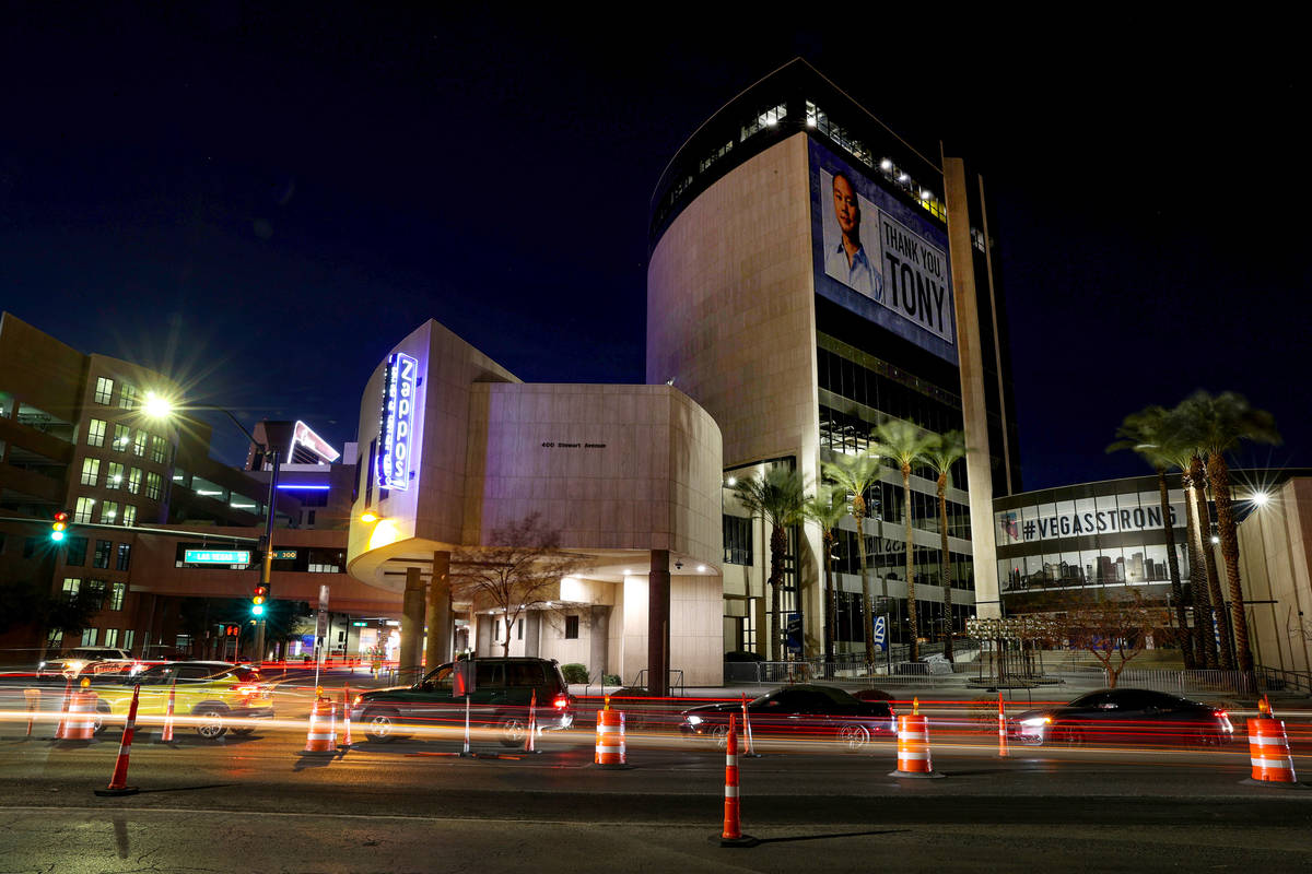 Zappos headquarters in Las Vegas Wednesday, Feb. 17, 2021 ...