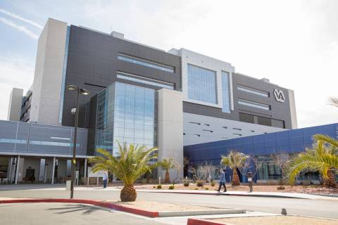 The VA Southern Nevada Healthcare System Medical Center in North Las Vegas is seen on Thursday, ...