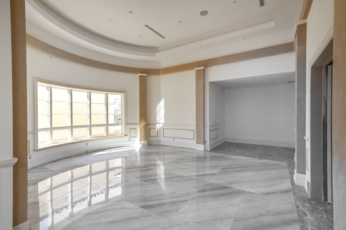 The home is expected to be completed in four months. (Luxurious Real Estate)