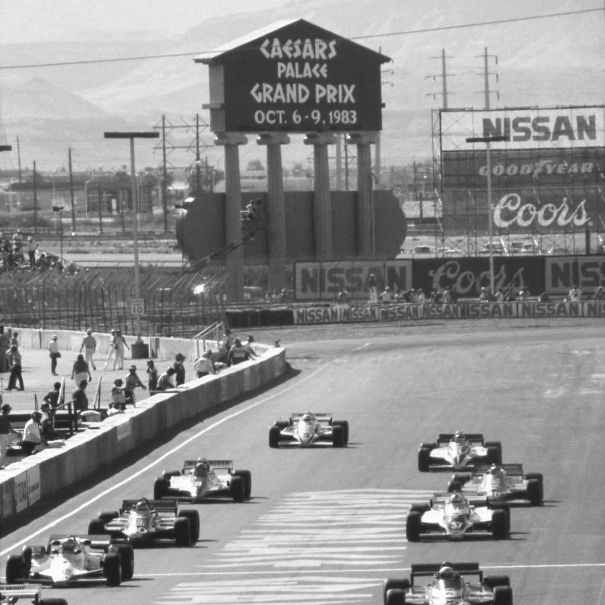 Caesars Palace converted its parking lot into a world-class track for formula one racing in Oct ...