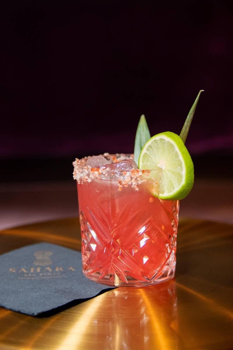 The Mojave Margarita at the Casbar Lounge. (Sahara)
