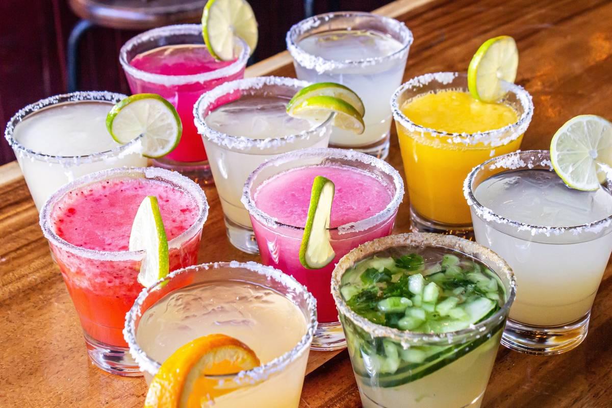 A selection of margaritas from El Segundo Sol. (El Segundo Sol)