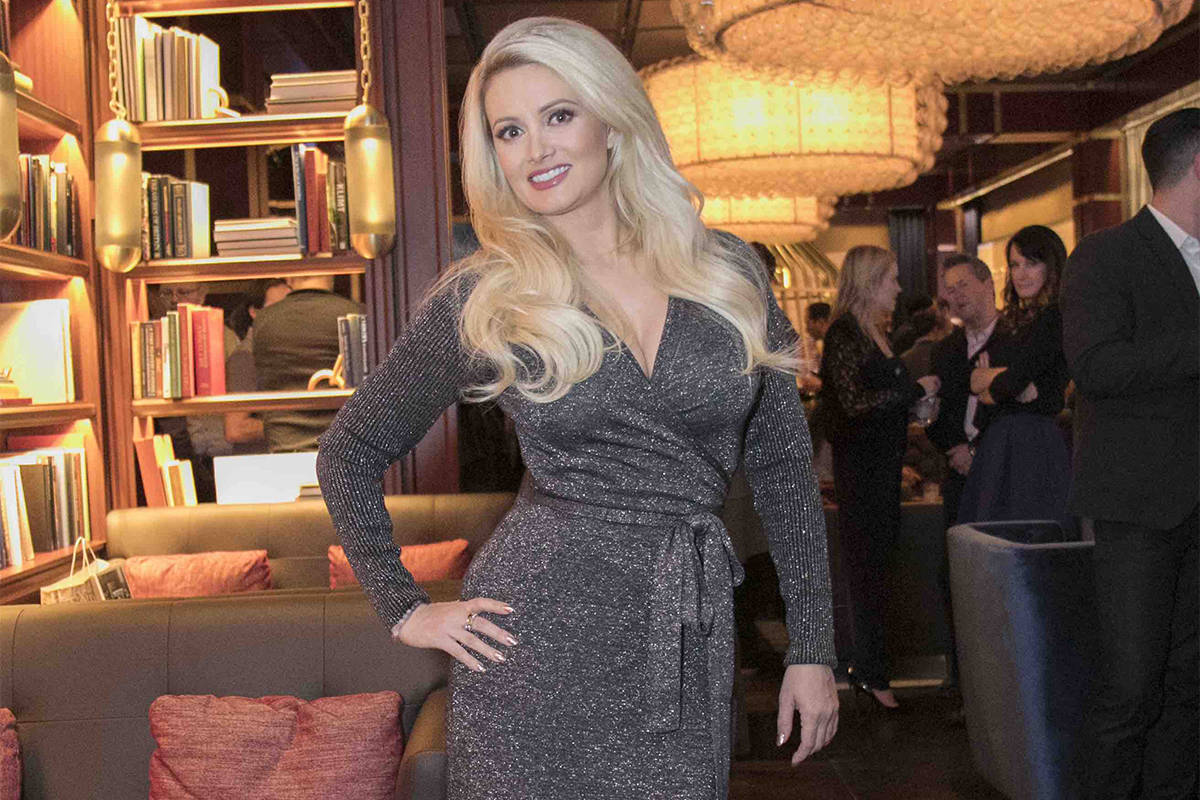 Holly Madison at The Dorsey at The Venetian on Thursday, Jan. 26, 2017, in Las Vegas. (Courtesy)