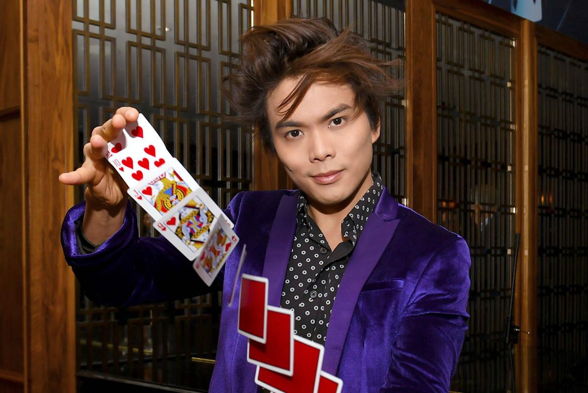 "Two-time ""America's Got Talent"" champ Shin Lim. (MGM Resorts International)"