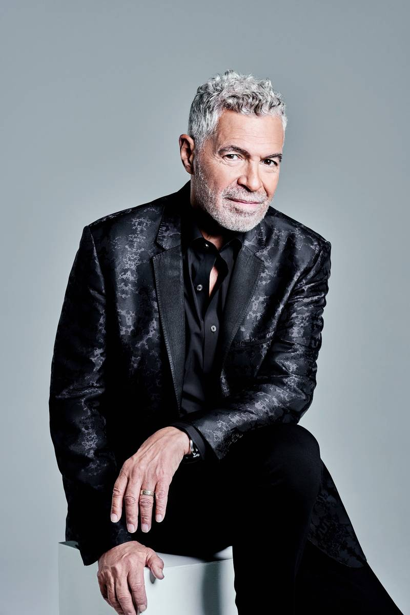 Clint Holmes is shown in an updated portrait by Las Vegas photographer Jerry Metellus. (Jerry M ...