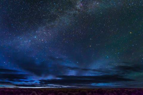 In this May 2, 2017 photo provided by Kurt Kuznicki is the Massacre Rim Wilderness Area in nort ...