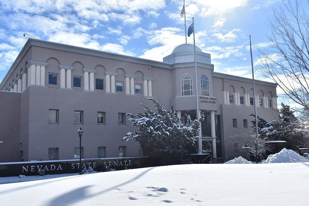 The Nevada State Capitol Building in Carson City. (Las Vegas Review-Journal)