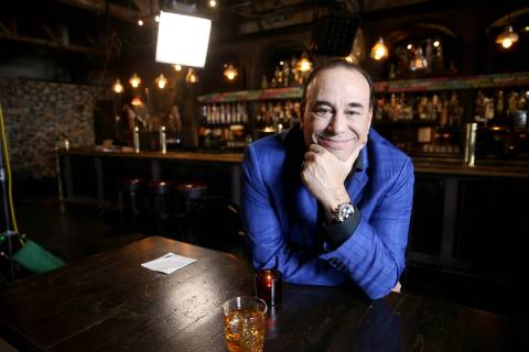 Bar Rescue host Jon Taffer during filming at Commonwealth in downtown Las Vegas in 2019. (K.M. ...