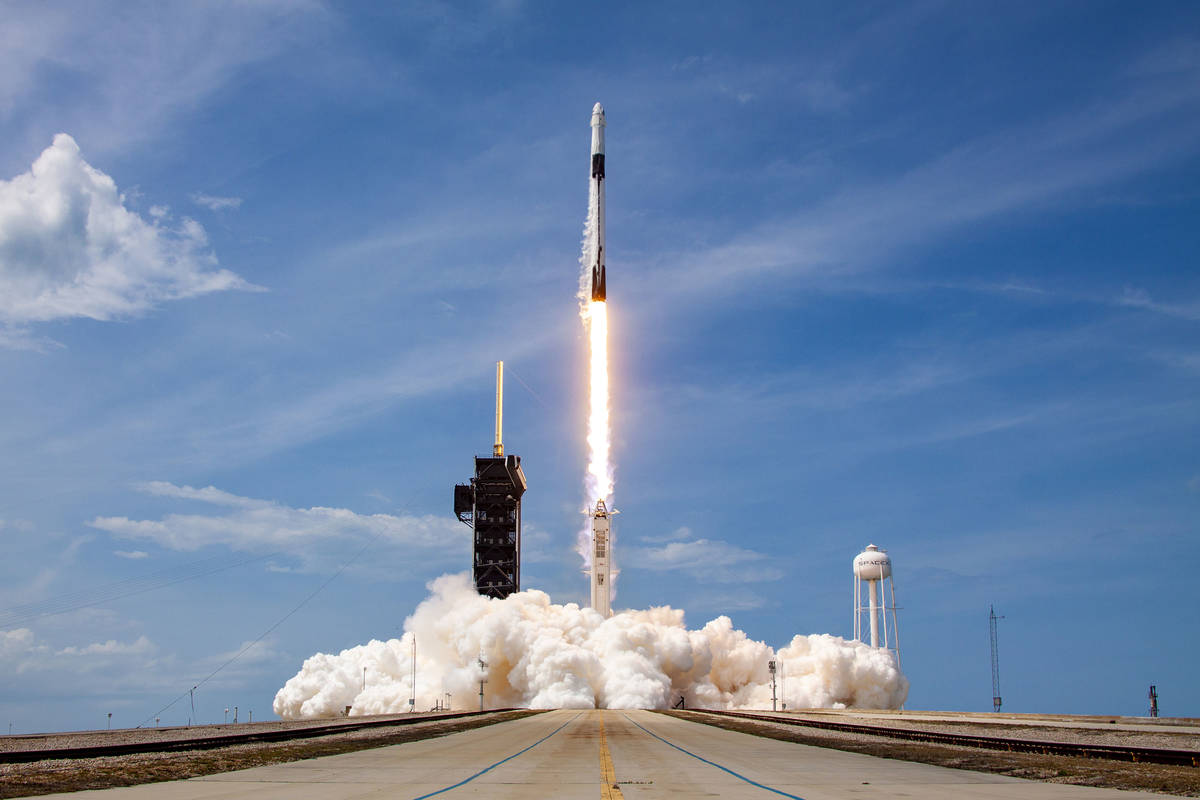 SpaceX will send the all-civilan Inspiration4 mission to low Earth orbit later this year. (SpaceX)