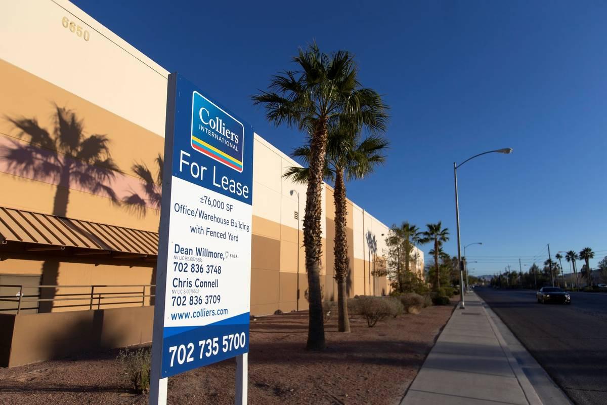 Arroweye Solutions' new office space on Wednesday, Feb. 24, 2021, in Las Vegas. (Ellen Schmidt/ ...