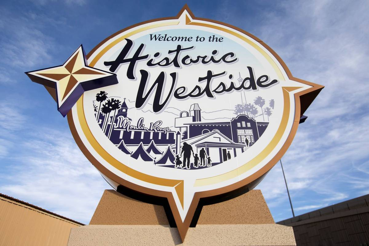 """The new """"Welcome to the Historic Westside"""" sign is present off of US95 and Martin Luther Kind B ..."""