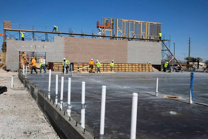 Construction is underway at CIVICA Career and Collegiate Academy, a new public charter school, ...