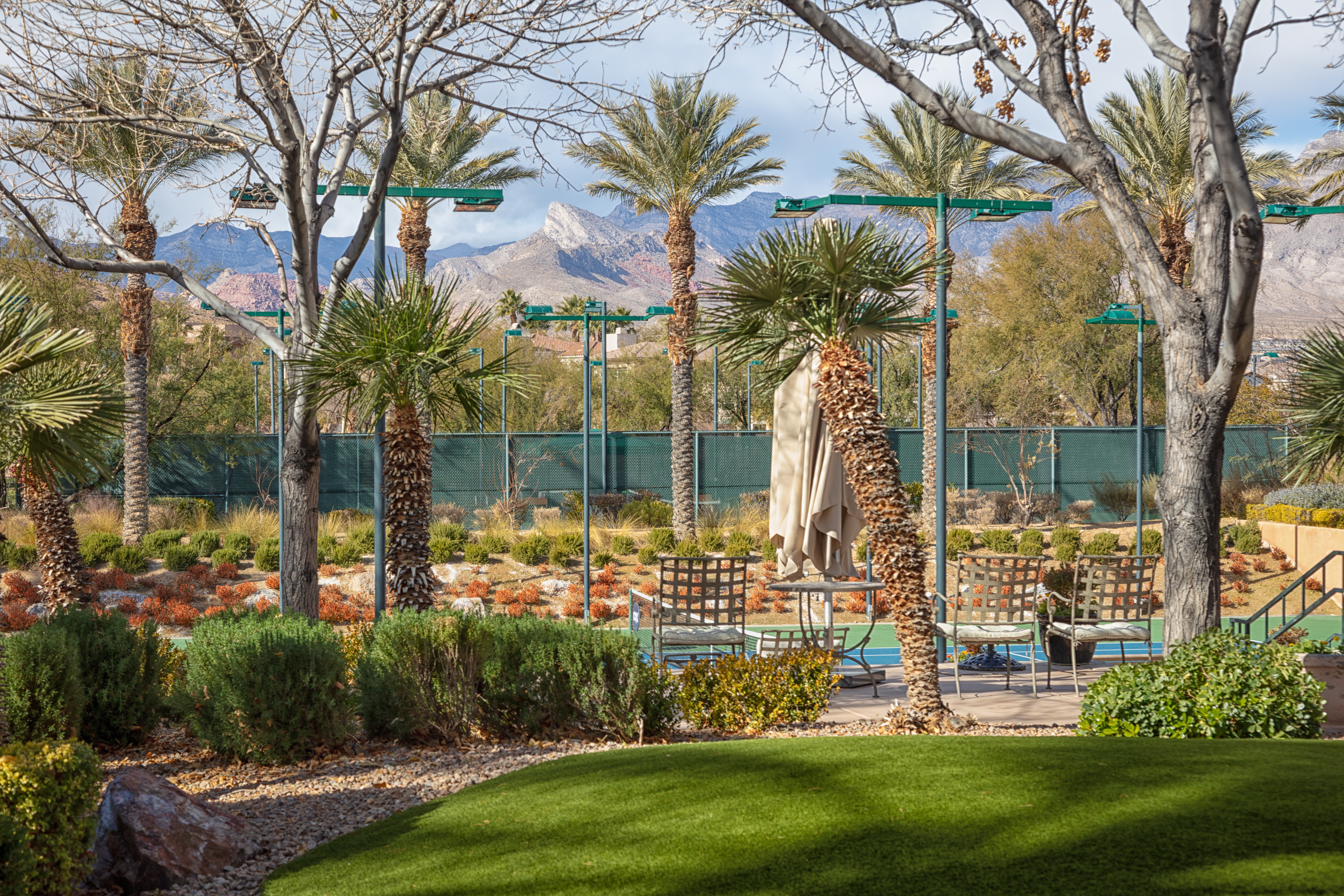 Artificial turf - tennis courts - RRCC.9552
