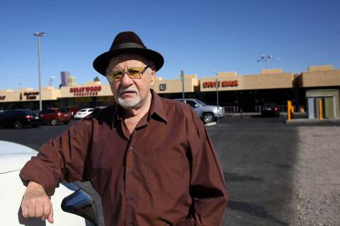 Frank Cullotta, former mobster and associate of Anthony Spilotro, stops at a former mob busines ...