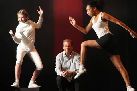 Darren Lee Cole, center, the artistic director of New York's SoHo Playhouse, has plans to bri ...
