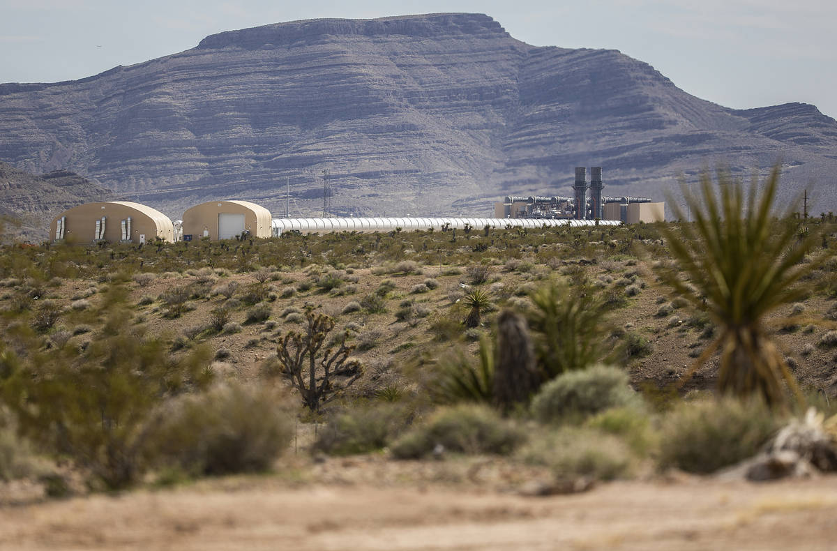 Virgin Hyperloop One Test and Development Siteon Friday, March 6, 2020, in North Las Vegas' A ...