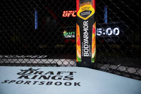 DraftKings became the official sportsbook and daily fantasy partner of UFC. (Courtesy of UFC)