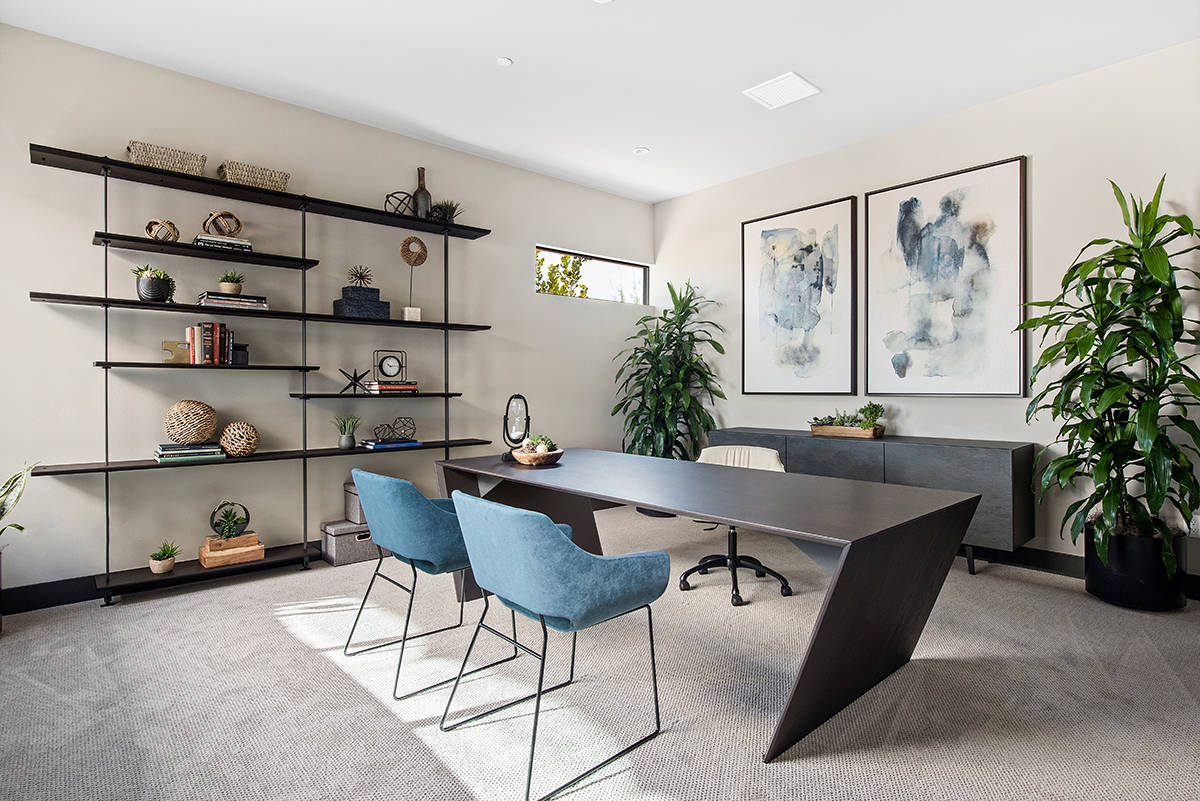 Realtors and designers say that since the global pandemic luxury homeowners want their offices ...