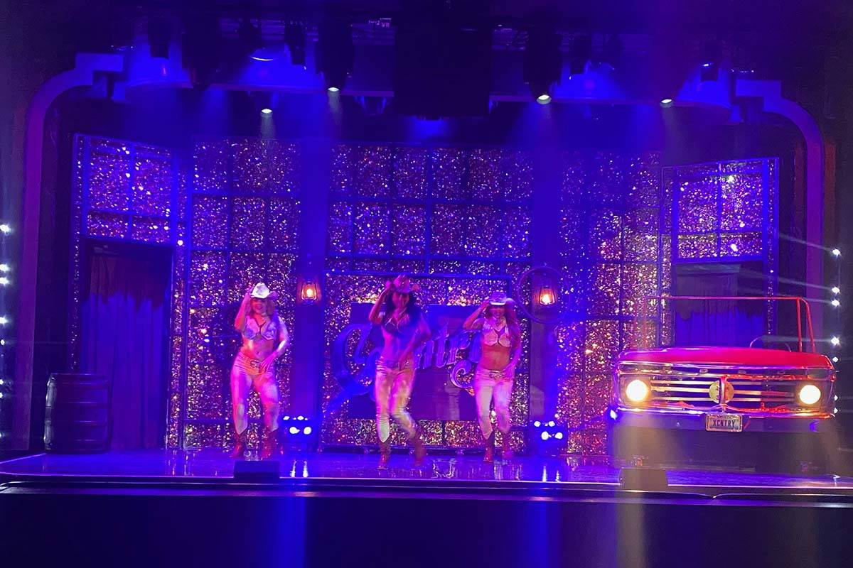 """The adult review """"X Country"""" returns to the stage at Harrah's Cabaret on Thursday, Oct. 22, 202 ..."""