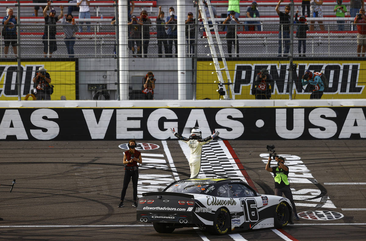 Nearly perfect weather forecast for Las Vegas, race day
