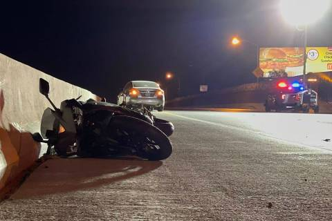 A Yamaha motorcycle was involved in a fatal collision early Sunday, March 7, 2021, at U.S. 95 a ...
